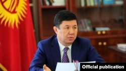 Мурдагы өкмөт башчы Темир Сариев