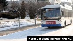"Троллейбусный маршрут ""Каспийск-Махачкала"", запущенный в феврале 2017 г."