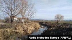 Селски водовод во село во Пелагонија.