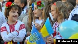 День знань в одній зі шкіл Львова. Архівне фото