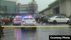 Полиция оцепила место стрельбы в Бетезде
