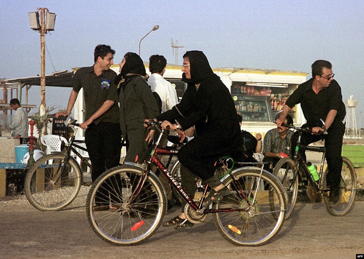Women Banned From Cycling In Bike-Friendly Iranian City