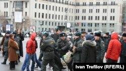 Акция в защиту кубанских экологов, Москва, 17 марта 2012