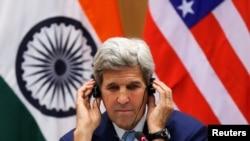 کری در ملاقات با نریندرا مودی، علاوه بر سایر مسایل درباره افغانستان هم بحث و گفتگو کرد.