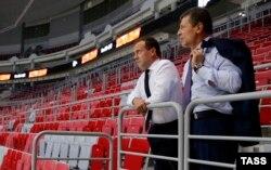 Дмитрий Медведев и Дмитрий Козак