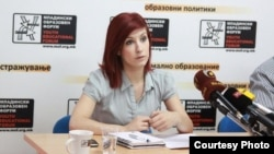 Дона Костуранова, претседателка на МОФ.