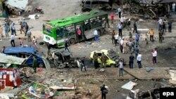 Սիրիա - Ռմբահարման հետևանքները Ջաբլայում, 23-ը մայիսի, 2016թ․