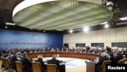 Ministrat e Mbrojtjes së NATO-s gjatë takimit të djeshëm në Bruksel
