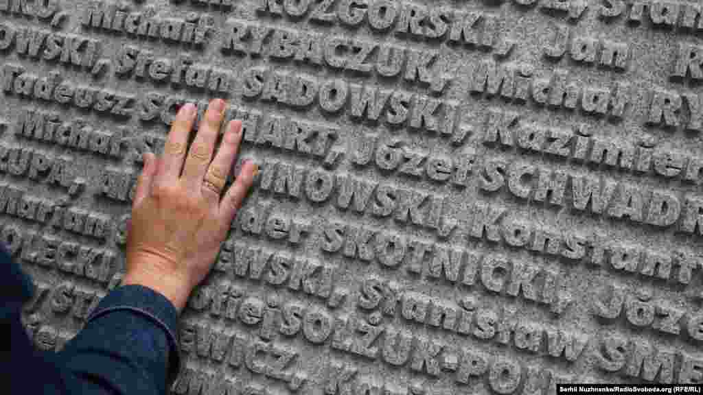 Фамилии польских военных, расстрелянных НКВД в 1940 году