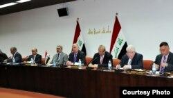 ممثلو كتل سياسية عراقية عراقية في إجتماع