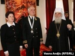 Aleksandar Konuzin prima svetosavski orden