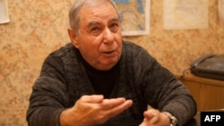 Akram Aylisli in Baku in 2013