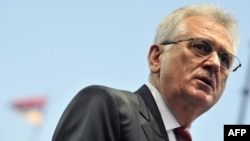 Лидер Сербской прогрессивной партии Томислав Николич