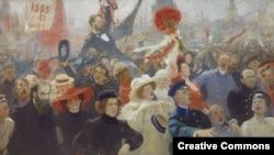 """17 октября 1905 года"", картина Ильи Репина"
