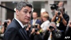 Хрватскиот премиер Зоран Милановиќ.