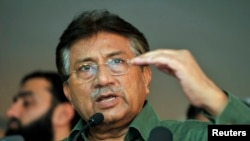 Former Pakistani President Pervez Musharraf is accused of treason for suspending the constitution and imposing emergency rule in November 2007.