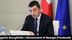 Премьер-министр Грузии Георгий Гахария, октябрь 2019 г․