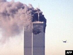 Nyu York, 11 sentyabr. 2001. Terrorçuların qaçırdığı ikinci təyyarə binaya çırpılmamışdan əvvəl