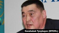 Директор прессозащитной организации «Журналисты в беде» Рамазан Есергепов.