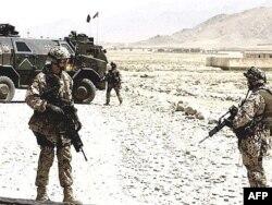 شماری از نیروهای آلمانی در افغانستان