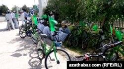 После велопробега, Туркменистан