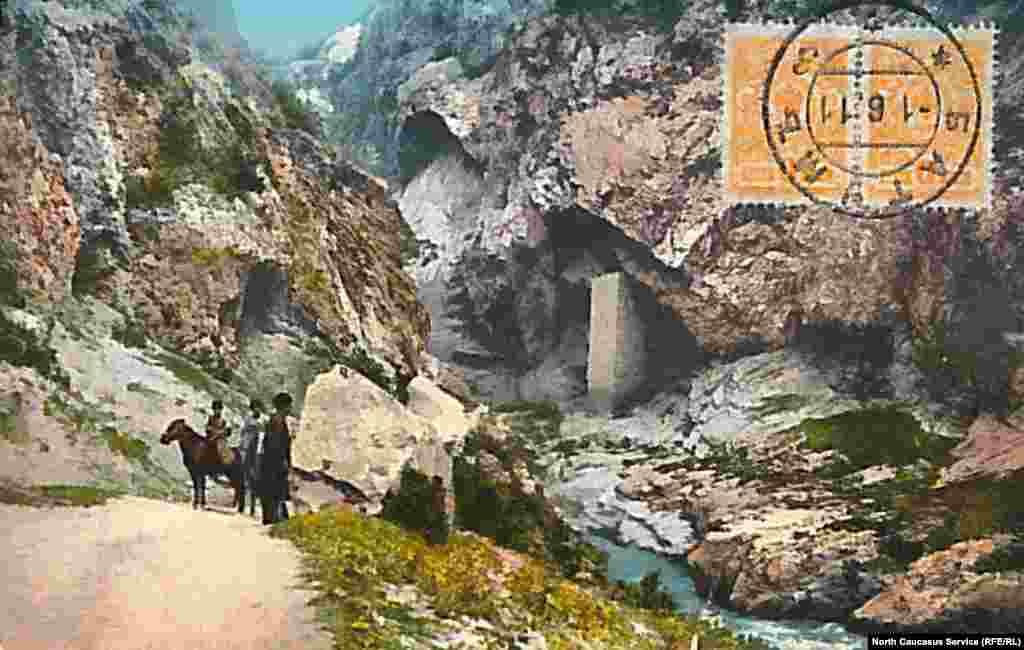Ушкалой, Аргунское ущелье, Чечня.