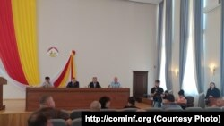 Заседание парламента Южной Осетии