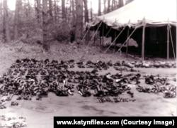 Эксгумации в Медном, август 1991. Фото из архива Алексея Памятных