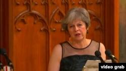 Britaniýanyň premýer-ministri Theresa Maý, London, 14-nji noýabr, 2017