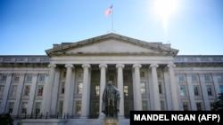 The U.S. Treasury Department in Washington, D.C. (file photo)