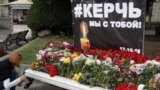 UKRAINE - Yalta laid flowers to the memorial at the same time as the funeral memorial service in Kerch, 19Okt2018