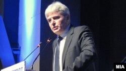 Претседателот на ДУИ, Али Ахмети