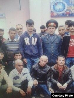 Рамазон Забиров, сафи аввал (байн)