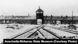 ოსვენციმის სიკვდილის ბანაკი. 1945 წლის იანვარში გადაღებული ფოტო.