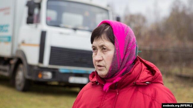 Марыя Фёдараўна, былая прадавачка крамы ў Ліпаўцы