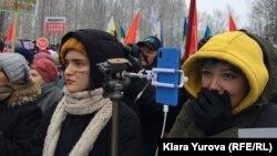 Один из экологических митингов в Сыктывкаре