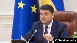 Украинанын премьер-министри Володимир Гройсман
