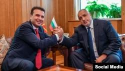 Премиерите на Македонија и на Бугарија, Зоран Заев и Бојко Борисов