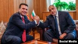 Премиерите Зоран Заев и Бојко Борисов