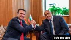 Премиерите Зоран Заев и Бојко Борисов.