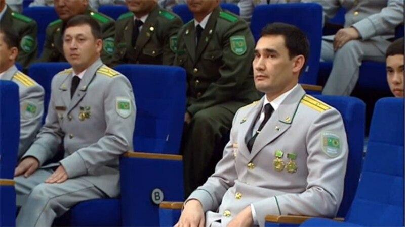 Թուրքմենստանի նախագահի որդին բանակցություններ է վարել Ղազախստանի նախագահի հետ