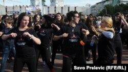 Crna Gora: Plesom protiv nasilja