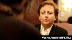 گفتوگو با شیرین عبادی، برنده نوبل صلح، درباره اعتراضات اخیر ایران