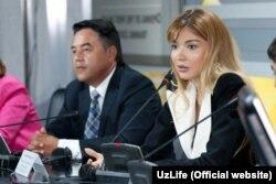 Firdavs Abduxoliqov va Gulnora Karimova