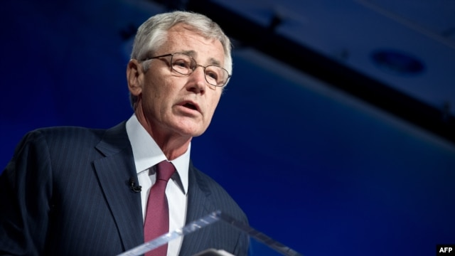 U.S. Defense Secretary Chuck Hagel says it's not yet clear how many of the remaining U.S. troops in Afghanistan would be devoted to counterterrorism missions.