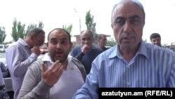 Տաքսու վարորդների հերթական բողոքի ակցիան Երևանում, 4-ը մայիսի, 2016թ․