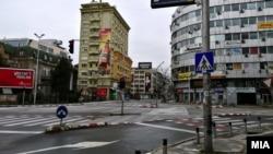 Викенд полициски час во Скопје, 28 март 2020 година