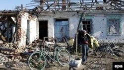 Село Карлівка, поблизу Донецька, 30 жовтня