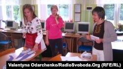 Підготовка до уроку в українській Бартошицькій школі