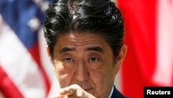 Јапонскиот премиер Шинзо Абе.